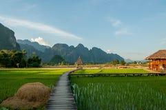 Vang Vieng Foto de archivo libre de regalías
