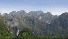 Vang Vieng Landscape, Laos Stock Images