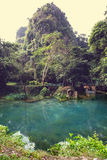 Vang Vieng landscapes Royalty Free Stock Images