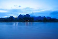 Vang Vieng, Laos royalty-vrije stock afbeelding