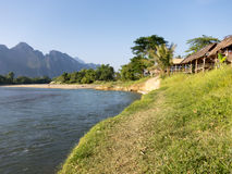 Vang Vieng, Laos Stock Photo