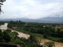 Vang Vieng, Laos Imagenes de archivo