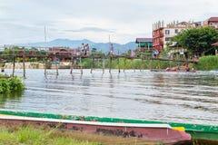 Vang Vieng, Laos Immagine Stock Libera da Diritti