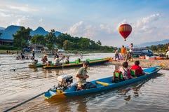 Vang Vieng, Laos Photos stock