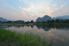 Vang Vieng, Laos Royalty Free Stock Image