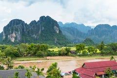 Vang Vieng, Laos. Stock Photography