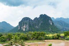 Vang Vieng, Laos. Royalty Free Stock Images