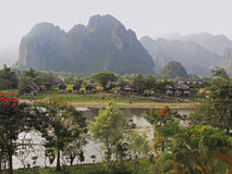 Vang Vieng - Laos Royalty Free Stock Photography
