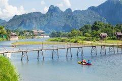 Vang Vieng, Laos Royalty Free Stock Images