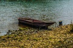 Vang vieng rivier Stock Foto's