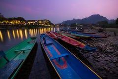 Vang Vieng Royalty Free Stock Photography