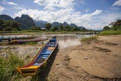 Vang Vieng Stock Image