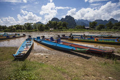 Vang Vieng Royalty Free Stock Image