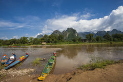 Vang Vieng Stock Photo