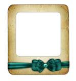 Vanga da torba per il foto con il nastro verde isolato Fotografia Stock
