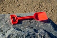 Vanga del ` s dei bambini sulla spiaggia immagine stock