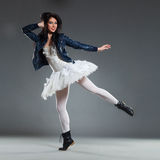 Vanguard ballet dancer Royalty Free Stock Photo