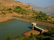 Vani Dam Near Nasik Royalty Free Stock Photography