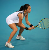 Vania King at the 2010 China Open stock images
