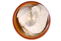 Vaniglia Bean Ice Cream Fotografie Stock Libere da Diritti