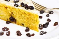 Vaniglia Ginger Cake With Black Currants di Apple immagini stock libere da diritti