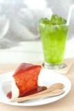 Vanila Kuchen lizenzfreies stockbild