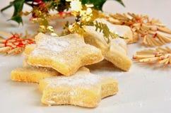 vanilj för kakaformstjärna Royaltyfri Fotografi