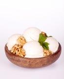 vanilj för leafmintmuttrar Royaltyfri Fotografi