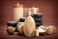 Vanilla aromatherapy Stock Image