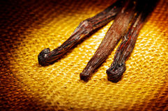 Vanilla beans Royalty Free Stock Photo