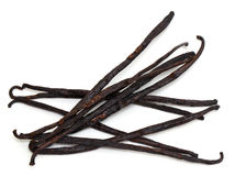 Vanilla beans Royalty Free Stock Photos