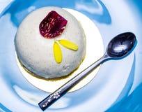 Vanilla cake Stock Images