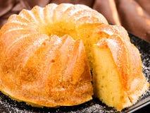Vanilla cake Royalty Free Stock Images