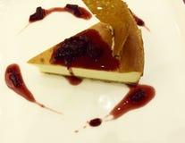 Vanilla Cheesecake Royalty Free Stock Photography