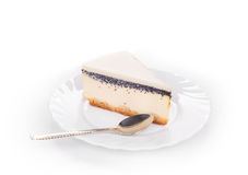 Vanilla cheesecake Stock Images