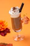 Vanilla Chocolate Chip Coffee Cocktail Royalty Free Stock Photo
