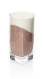 Vanilla chocolate dessert in a glass Stock Photography
