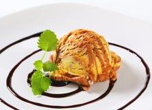 Vanilla chocolate ice cream Stock Photography