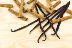 Vanilla-cinnamon 5 Stock Photography