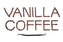Vanilla Coffee Royalty Free Stock Image