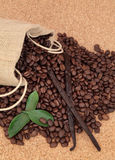 Vanilla Coffee Royalty Free Stock Images