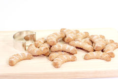 Vanilla Cookies Royalty Free Stock Image