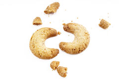 Vanilla cookies Royalty Free Stock Images