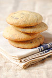 Vanilla Cookies Stock Photography