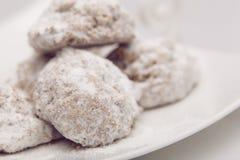 Vanilla cookies Royalty Free Stock Photo