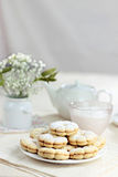 Vanilla cookies Royalty Free Stock Photography
