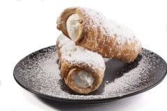 Vanilla Corn on White Stock Image