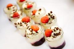Vanilla cream Royalty Free Stock Images