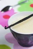 Vanilla Cream Stock Photo