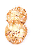 Vanilla cream danish Stock Photography
